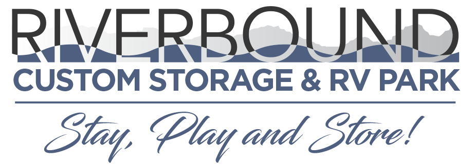 Riverbound Custom Storage Logo